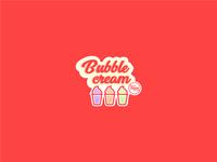 Bubble Cream Branding