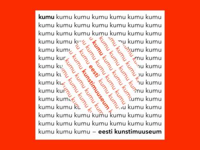 Kumu museum branding