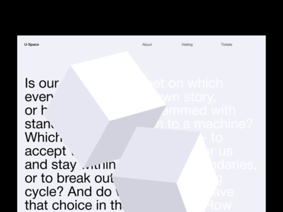 U-Space — About Page
