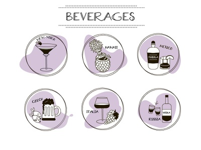 Beverages icons restaurant icons drinks icons drinks beverages beverages icons