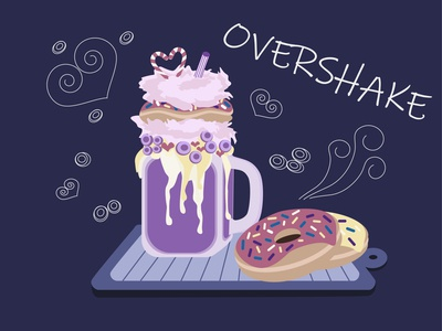 Overshake illustration