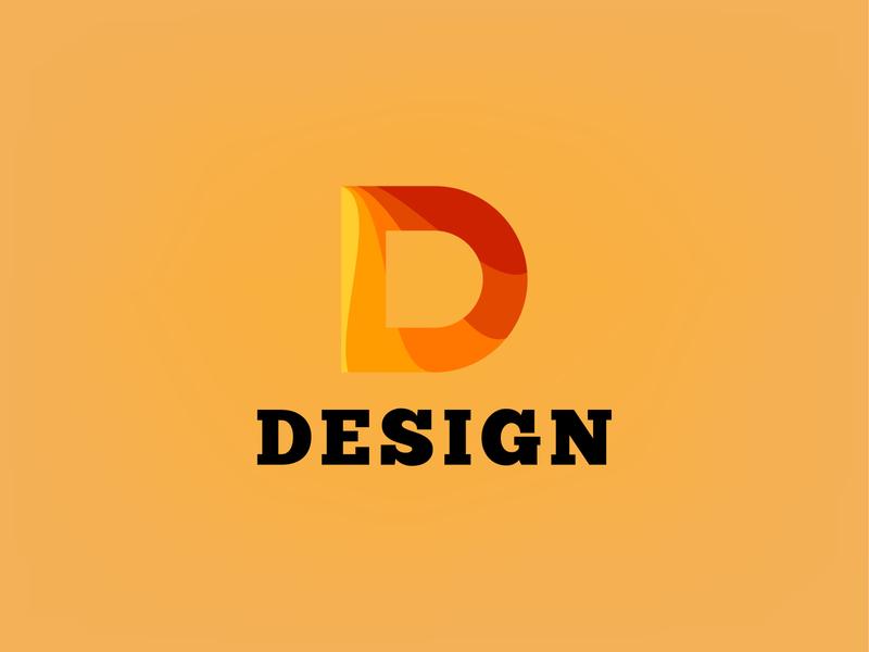 Modern D Letter Logo Template