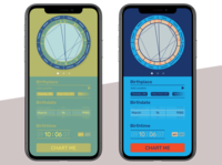 DailyUI #04 Astrology birth chart calculator