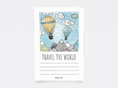 Postcard — TRAVEL THE WORLD