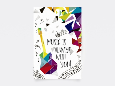 Postcard — Music is always with you!