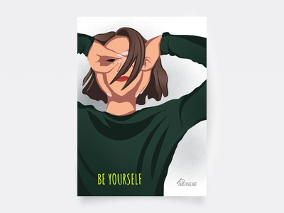 Postcard — Be Yourself