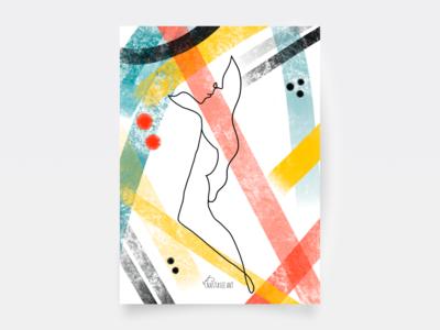Postcard — Modern Line