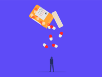 Overdose Editorial Illustration