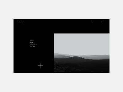 Paul Soulhiard - Portfolio 2020 concept interaction mobile minimal website web layout clean portfolio webdesign interface design typography ux ui