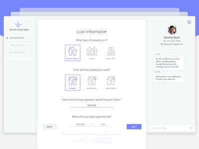 Loan Application Design