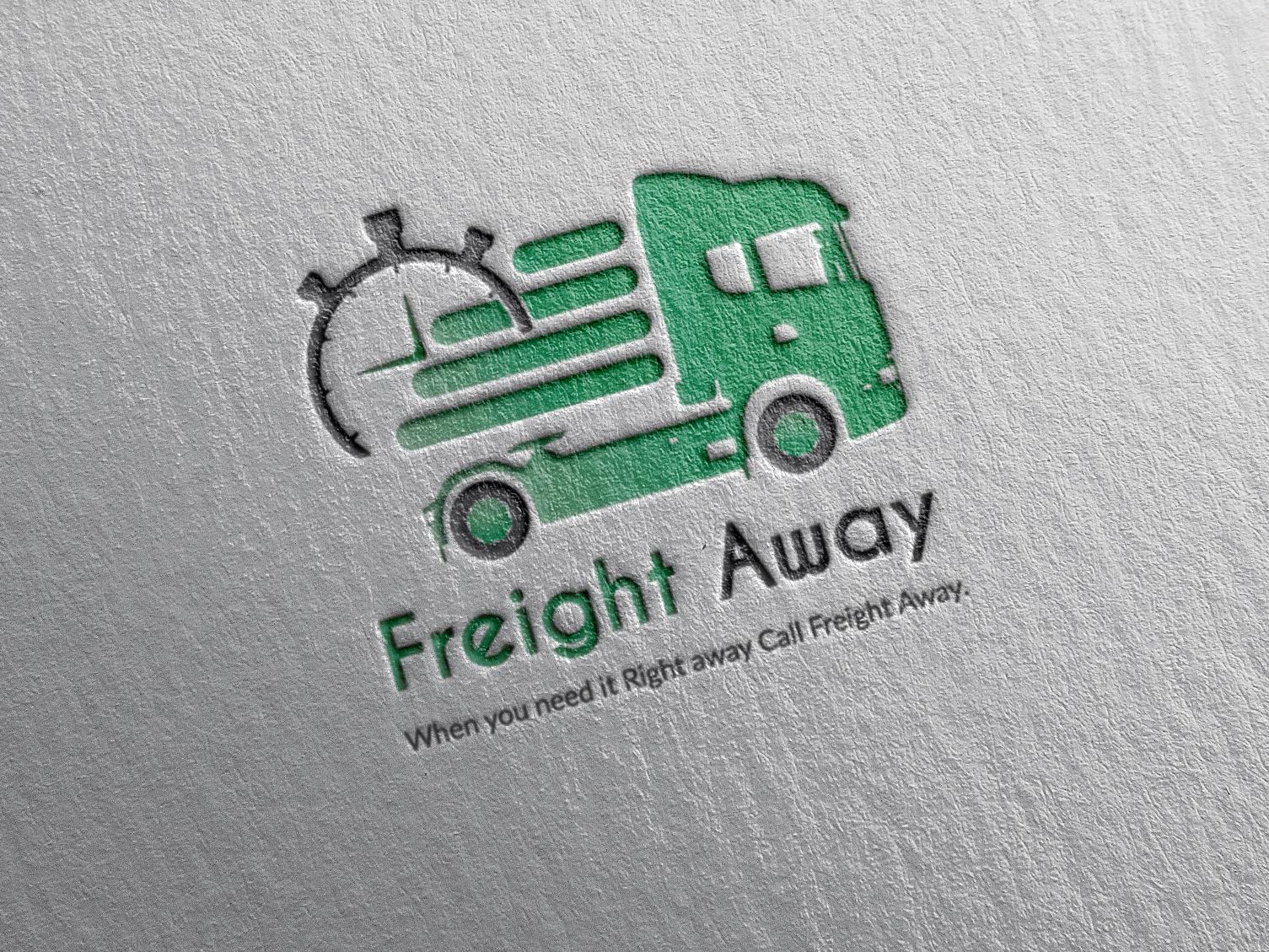 Freight Away Logo design icon logo