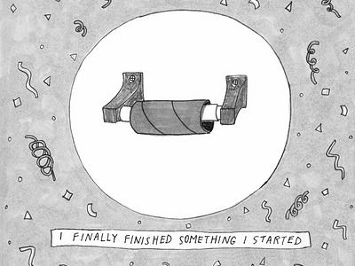 Quarantine sketchbook illustrator micron photshop drawing humor comic illustration