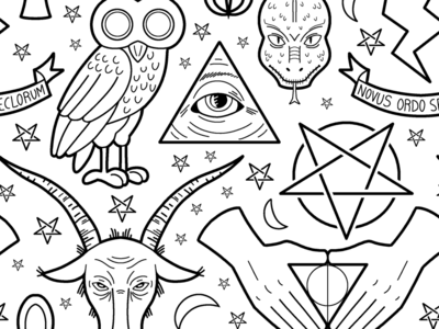 Illuminati Pattern