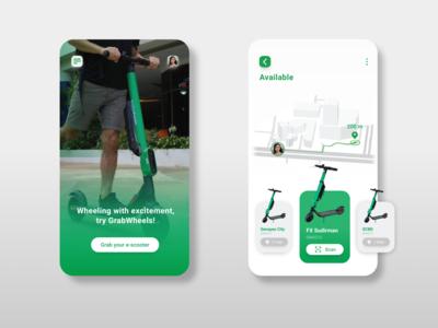 GrabWheels App Concept