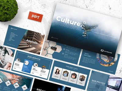 Culture - Business Powerpoint Template