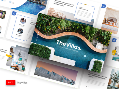 TheVillas - Hotel Presentation Template reception people motel luxury luggage lobby living interior house hotel hostel home holiday guest design business bedroom architecture apartment accommodation