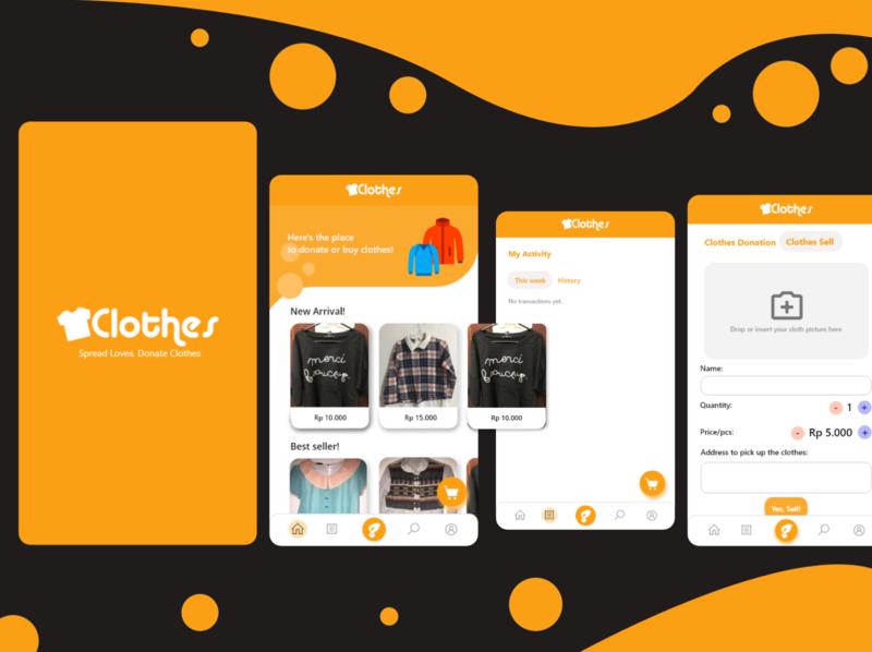 UI Design for Clothes