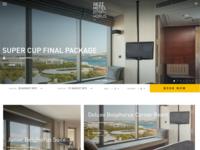 Booking Website Design