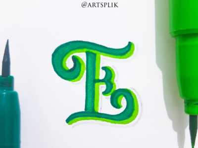 Lettering within an inch