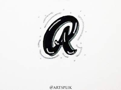 Lettering within an inch alphabet typography lettering modern calligraphy calligraphy