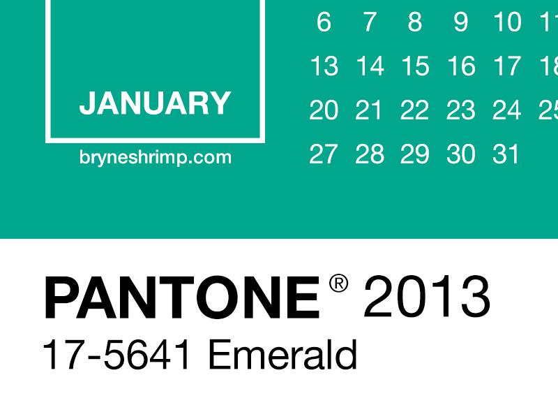Pantone2013 spring