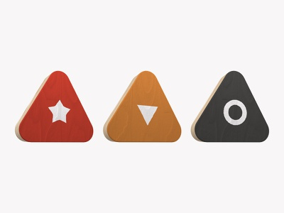 Team Icons icons triangles team