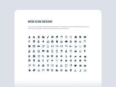 web icon design