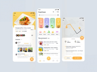 a food  app