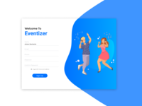 #DailyUI 001 - Event Sign up