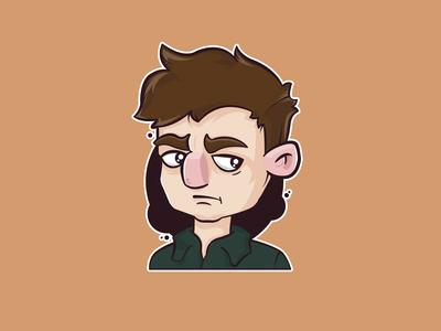 Vectorial Illustration of myself
