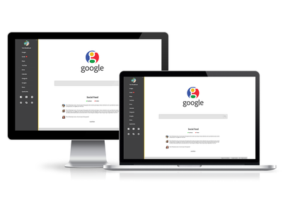 Google Rebrand branding logo google web design ui ux web development layout