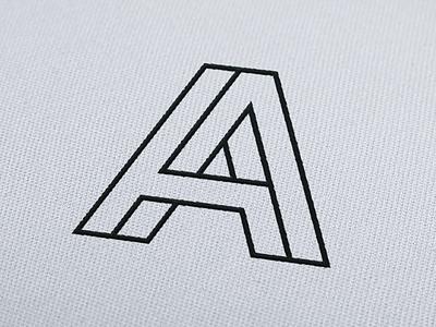 Abobe Interiors Brand Identity lettermark wordmark brand branding design logo
