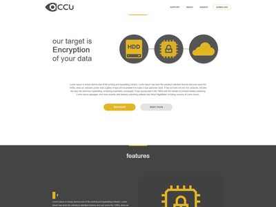 Occulatum design web