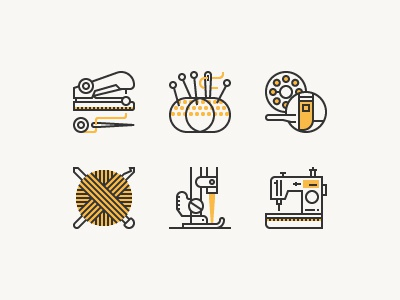 Sewing Equipment craft knitting ripper fabric crochet machine sewing zippe icon