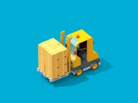 LogicSource - We See Profit All Around You - Forklift