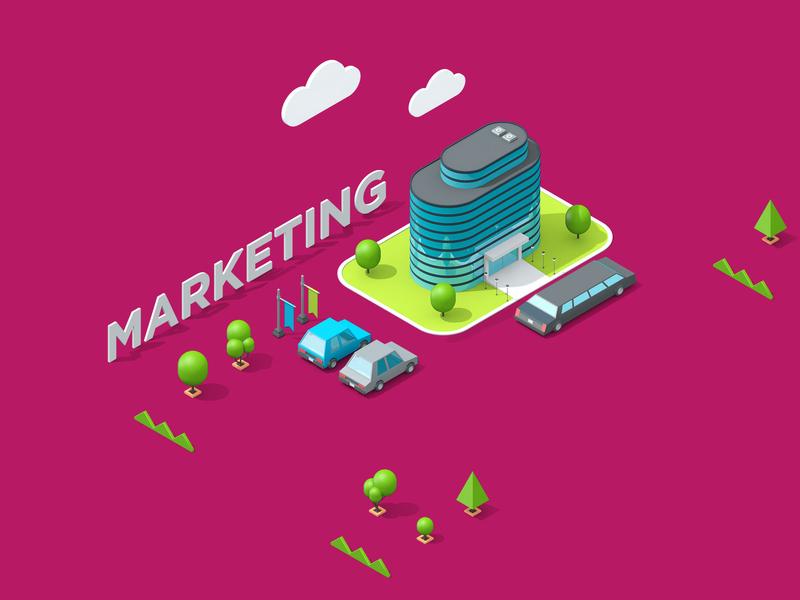 LogicSource - We See Profit All Around You - Marketing marketing motion graphics motion designer motion design motion isometric 3d illustration illustration c4d cinema 4d