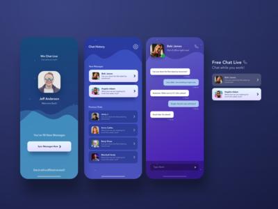 WeChatLive App Design