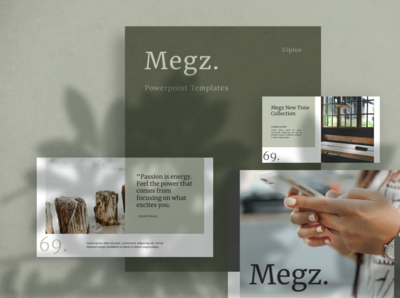 MEGZ Powerpoint Template