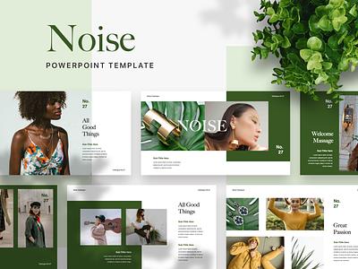 NOISE Powerpoint Template ui pptx slide google slide keynote ppt presentation layout deck pitch powerpoint template presentation