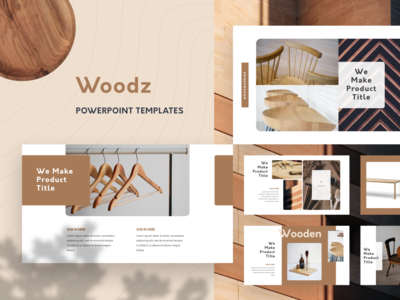 Woodz Branding PowerPoint Template