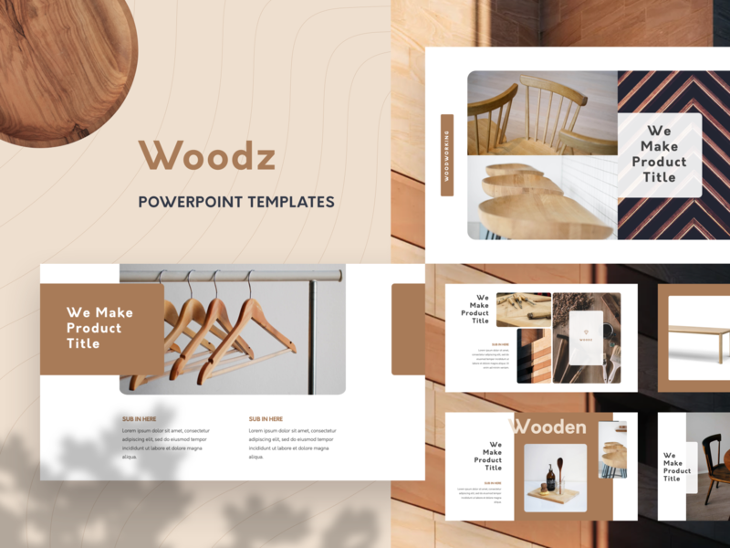 Woodz Branding PowerPoint Template