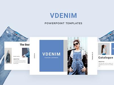 VDENIM Powerpoint Template presentation layout template slide presentation pptx ppt powerpoint keynote google slide deck