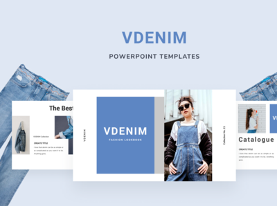 VDENIM Powerpoint Template