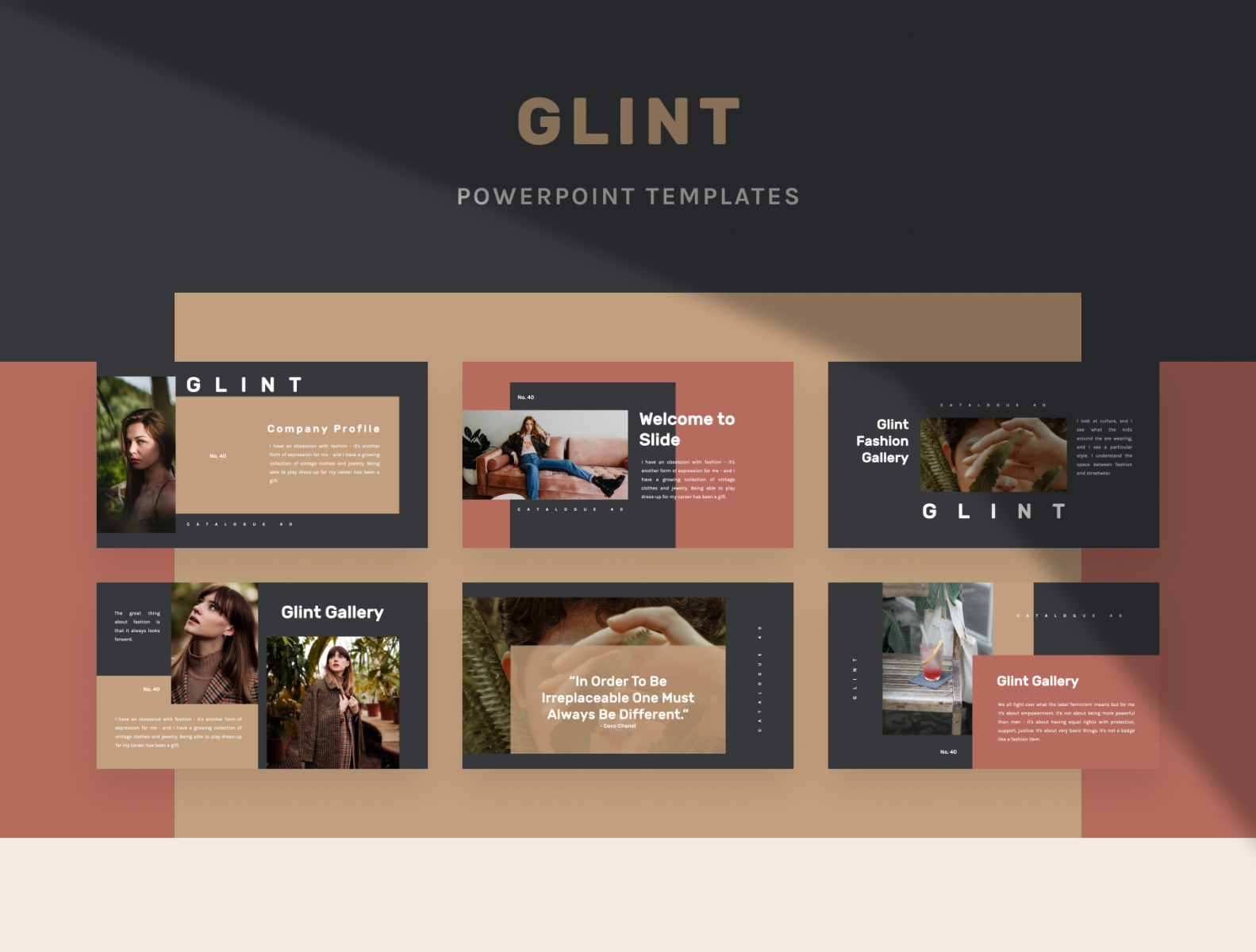 Florez Powerpoint Template By Uiplus On Dribbble