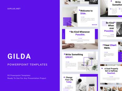 GILDA Powerpoint Template
