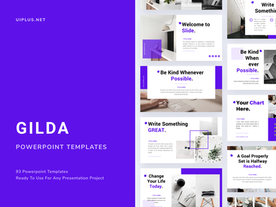 GILDA Powerpoint Template layout design fashion simple pastle layout pitch template presentation slide pptx ppt powerpoint keynote google slide deck