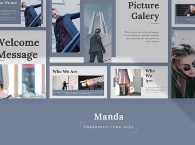 MANDA Powerpoint Template