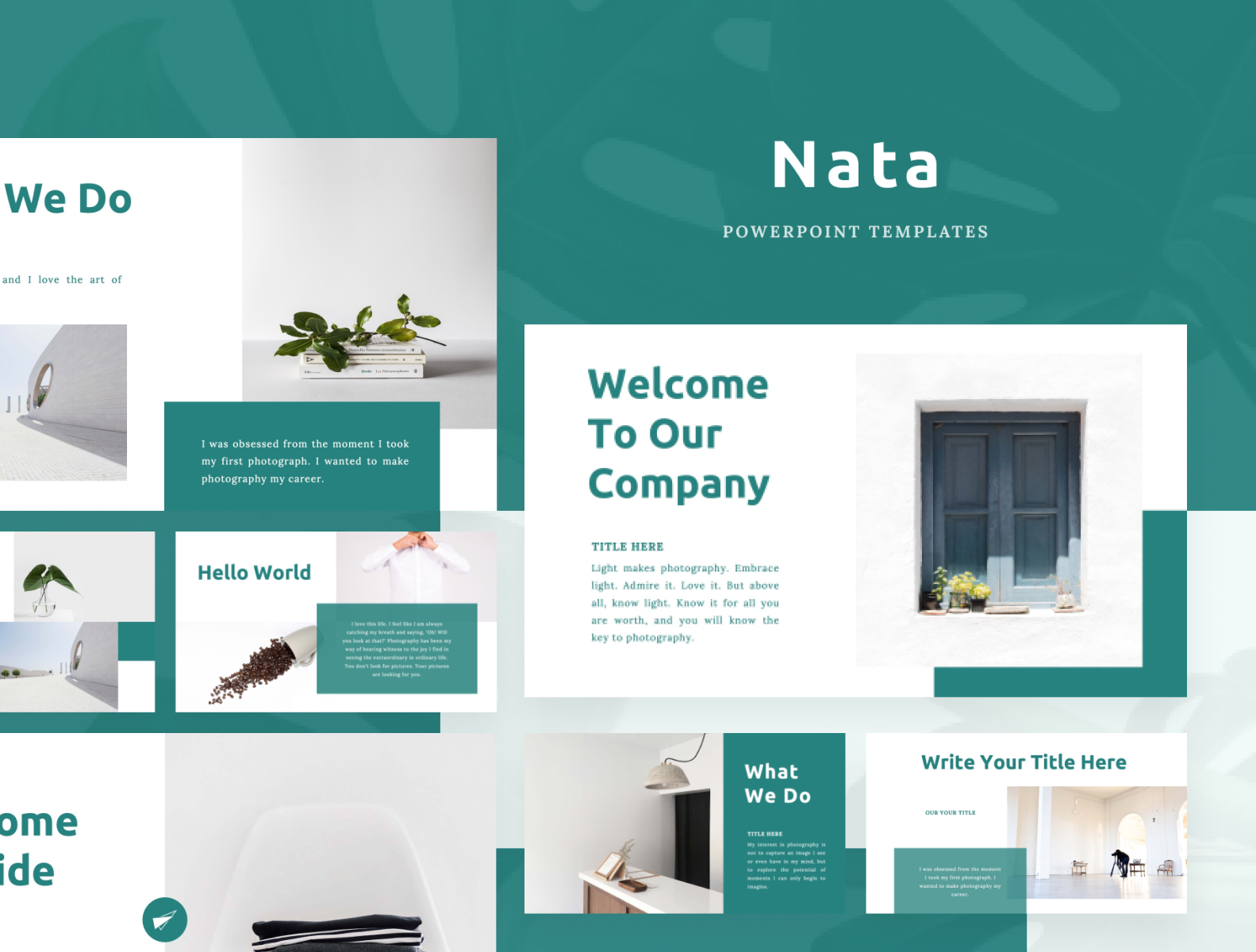Nata Powerpoint Template By Uiplus On Dribbble