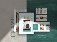 TRAZE Powerpoint Template