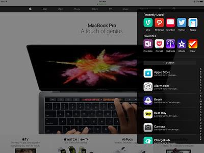 iPad Multitasking Redesigned apple ipad pro redesign mockup concept split screen ios multitasking ipad